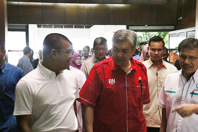 Kunjungan Timbalan Perdana Menteri Malaysia ke Darulaman Golf & Country Club