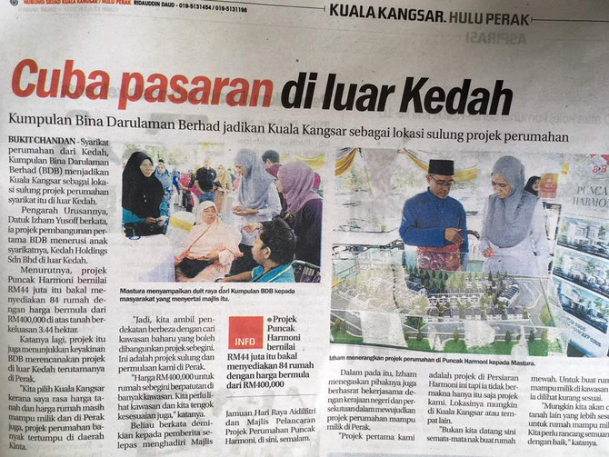 Cuba pasaran di luar Kedah