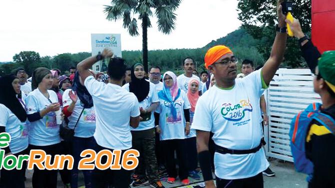 Color Run 2016 Tutup Tirai Kalendar Acara Darulaman Park