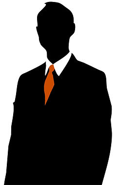 Gentleman-business-person-silhouette-fre