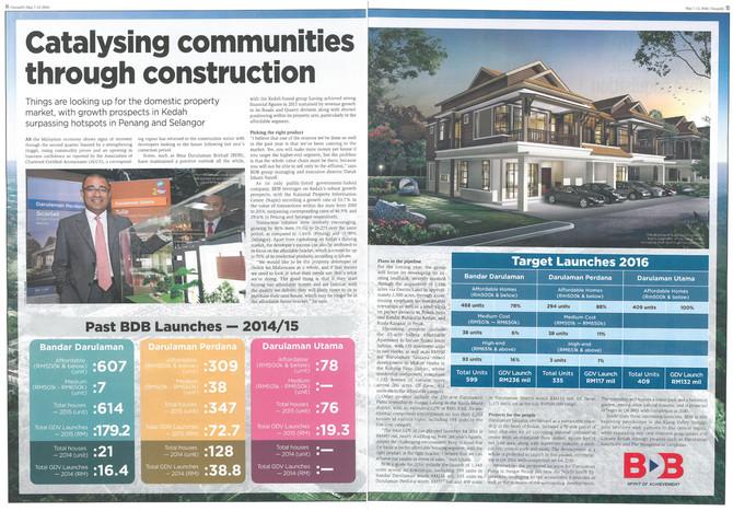 Catalysing Communities Through Construction