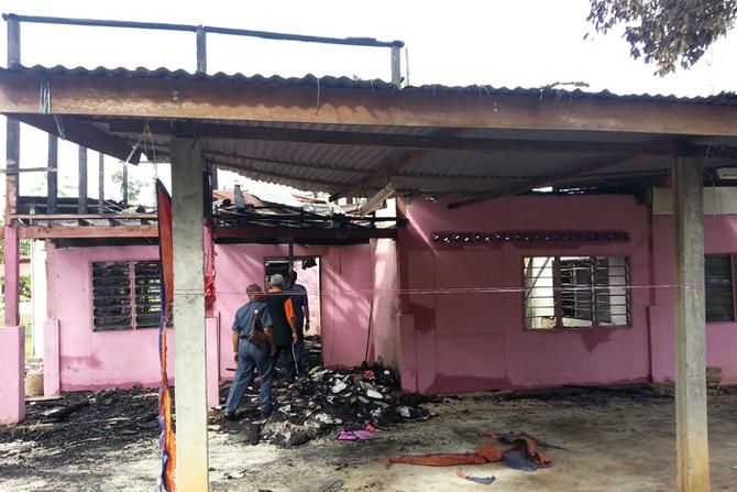 Donation to Staff (Fire Victim)