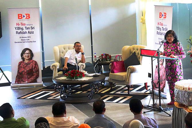 Majlis Hi-Tea bersama Tan Sri Rafidah Aziz