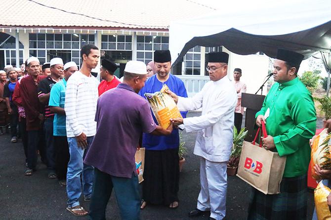 Majlis Iftar di Masjid Al-Ikhwan Pida 2, Tunjang
