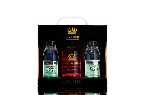 Crown Gin Red Fruits - Giftbox