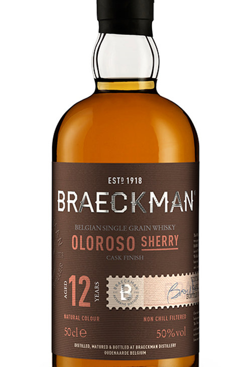 Braeckman Single Grain Whisky - Oloroso Finish - 12 Years