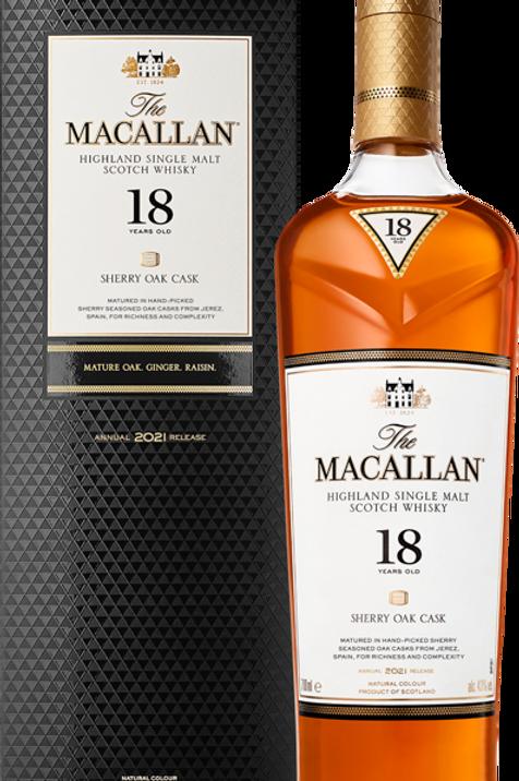 Macallan 18 Years Sherry - 2021 Release