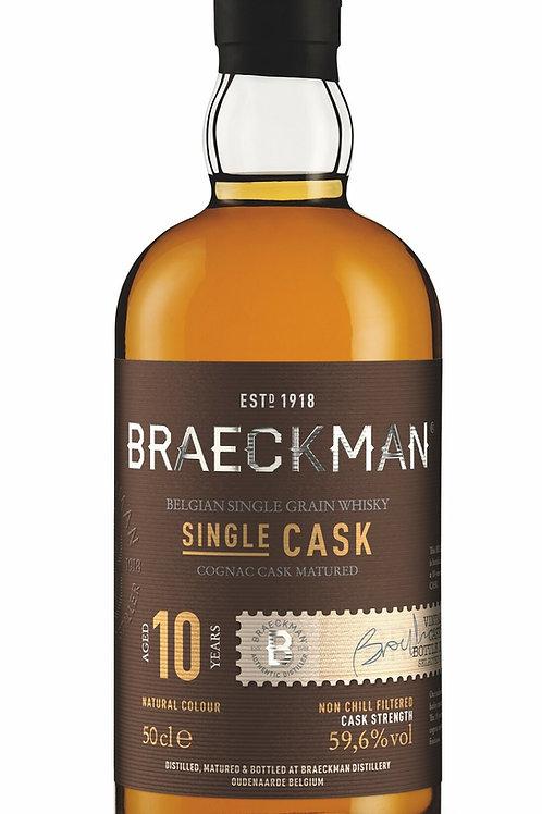 Braeckman Single Grain & Barrel - 10Y Cognac Cask 62,9%