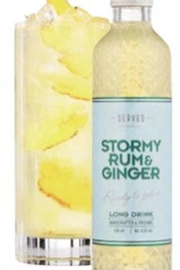 Nohrlund Served Stormy Rum & Ginger 4-Pack