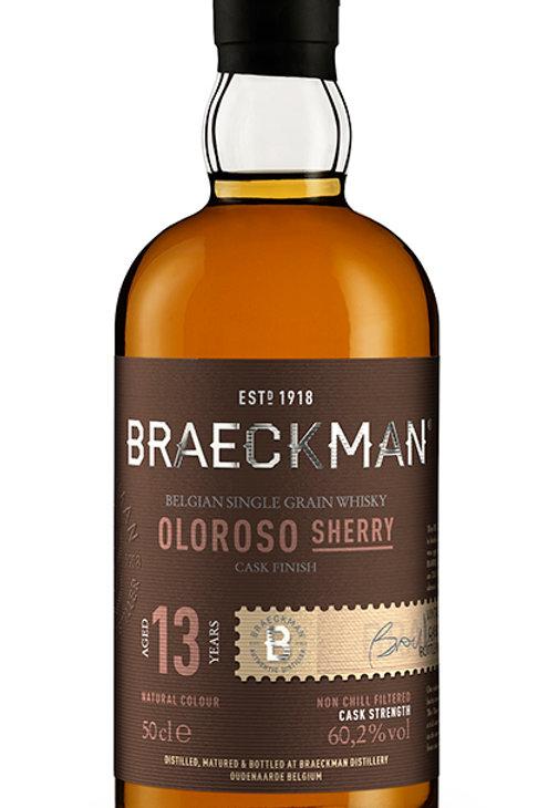 Braeckman Single Grain - 13Y Oloroso Sherry Cask Finish 60,2%