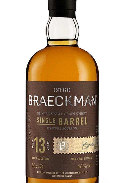 Braeckman Single Grain & Barrel - 13Y Cask 98 46%