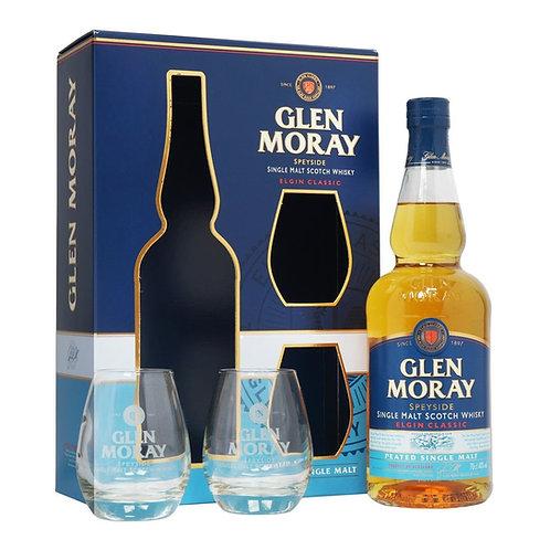Glen Moray Peated Giftpack