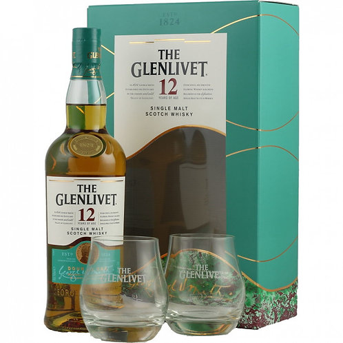 Glenlivet 12Y Giftbox