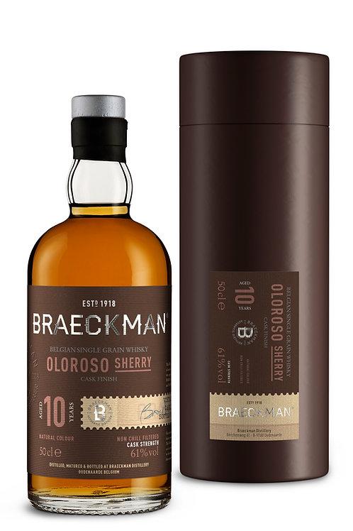 Braeckman Single Grain Oloroso Sherry 10Y - Vintage 2008
