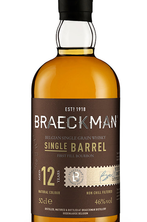 Braeckman Single Grain Whisky - Single Barrel - 12 Years 46%