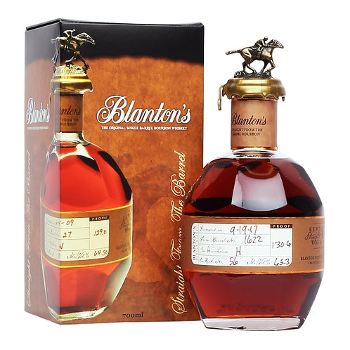 Blanton's Straight From The Barrel No.541 63,65%