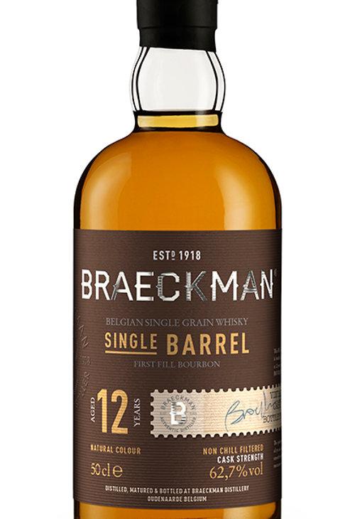 Braeckman Single Grain Whisky - Single Barrel - 12 Years - 62,9% - Cask°97