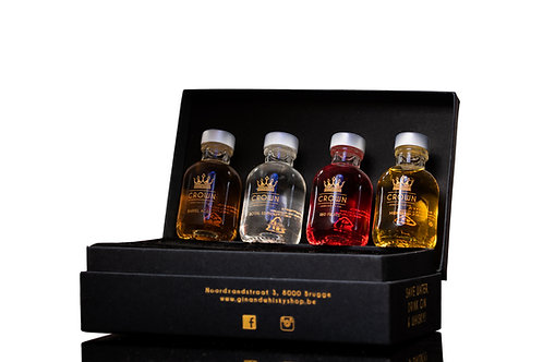 Crown Gin Mini Collection
