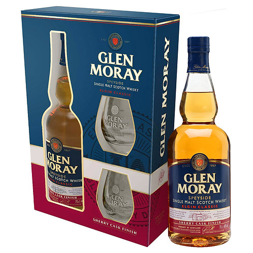 Glen Moray Sherry Cask Finish Giftpack