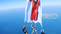 FREEFALL FLAG