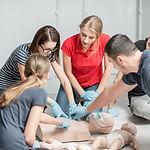 Erste Hilfe Kindernotfall Training