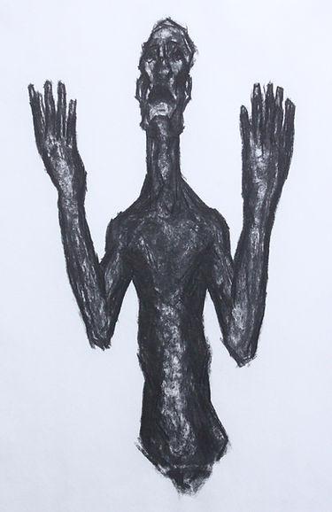 Mãos ao Céu 4 - Carvão - 90x60.jpg
