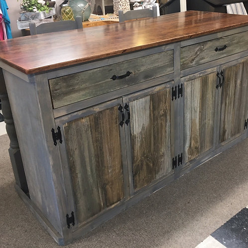 Kitchen Island, Reclaimed Woods