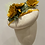 Thumbnail: Alice. Yellow fish leather flowers and fine straw