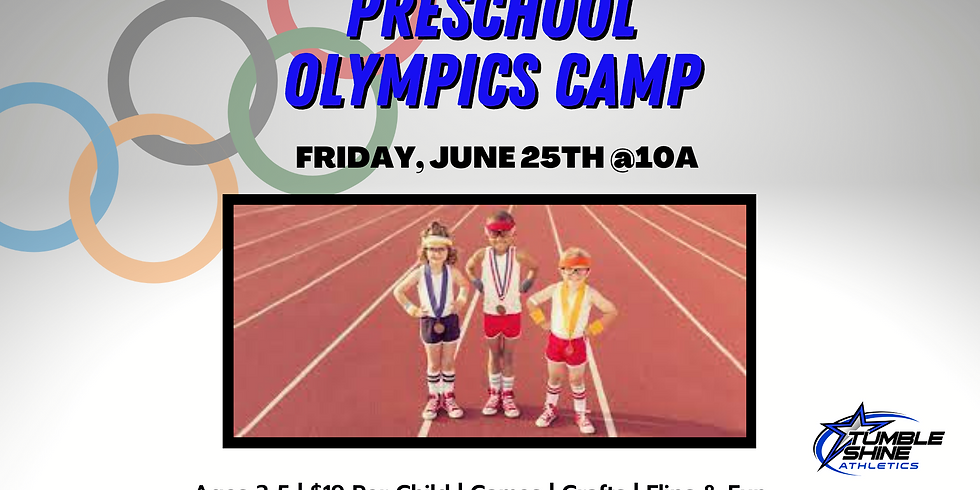 Olympic Games Preschool Camp