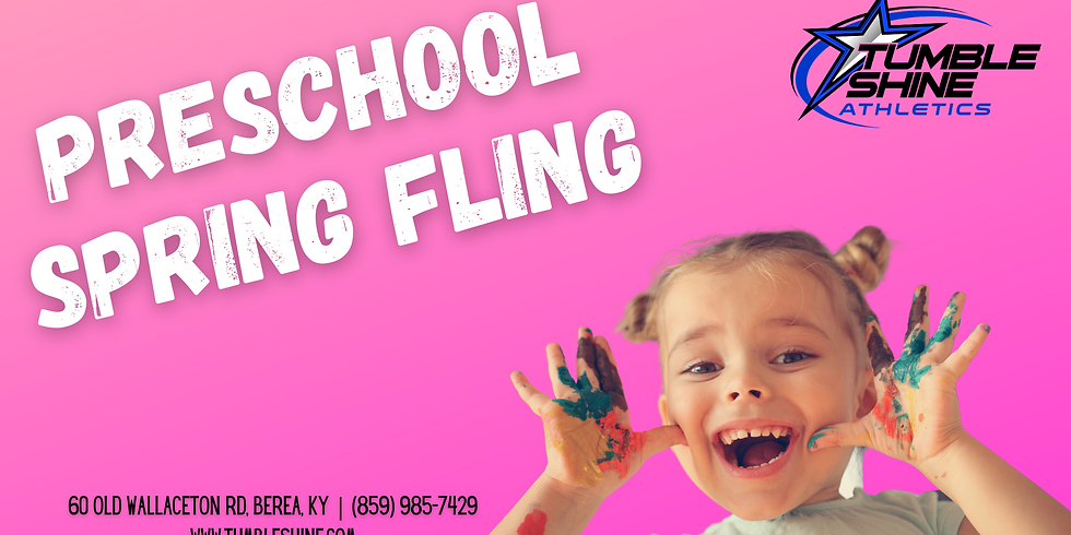 Preschool Spring Fling