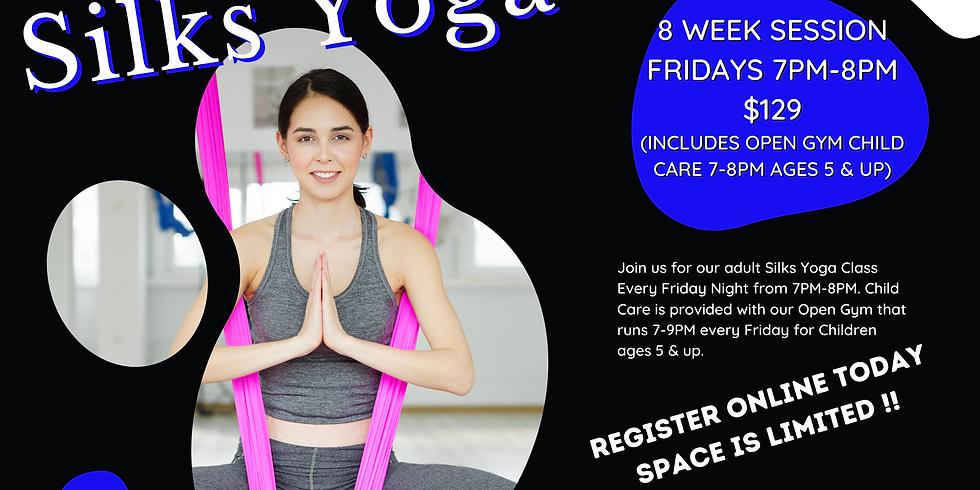 8 Week Silks Yoga Session