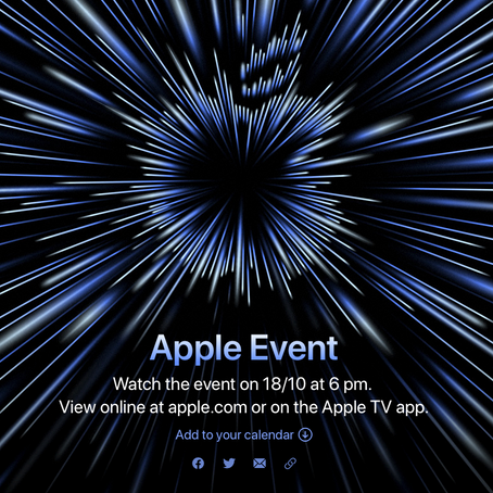 Unleashed. Apple Event. Monday.