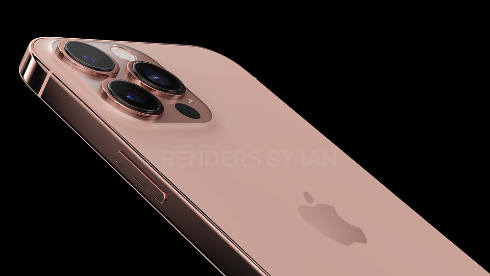 A Gold iPhone 12S