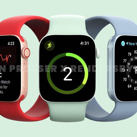 Apple Watch Series 7. A Roundup Of What To Expect For The Watch At The Apple Event This Week.