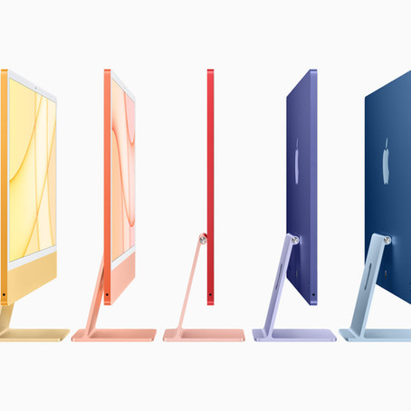 Apple Will Stock Every Colour Of The New M1 iMac In-Store.