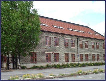 School building before it became  school