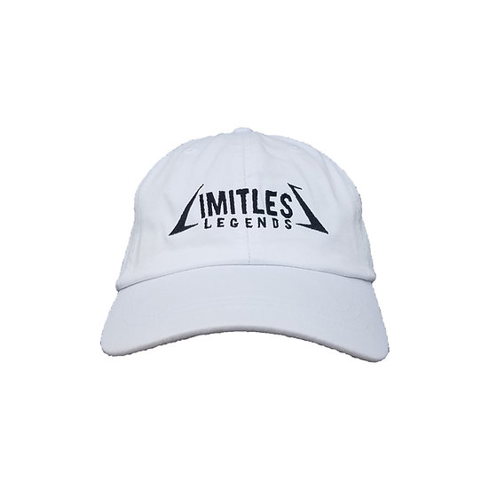 LIMITLESS LEGENDS DAD CAP (WHITE)