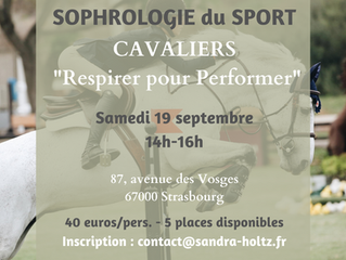 Cavaliers : Mieux Respirer pour Performer