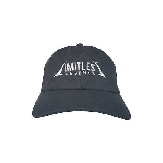 LIMITLESS LEGENDS DAD CAP (BLACK)