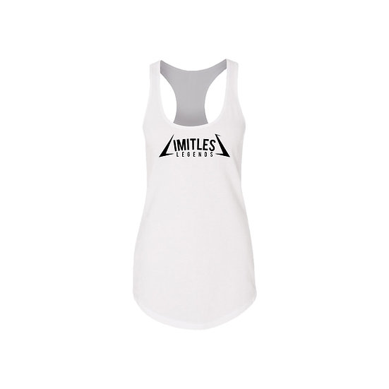 LIMITLESS LEGENDS TANK TOP (WHITE)
