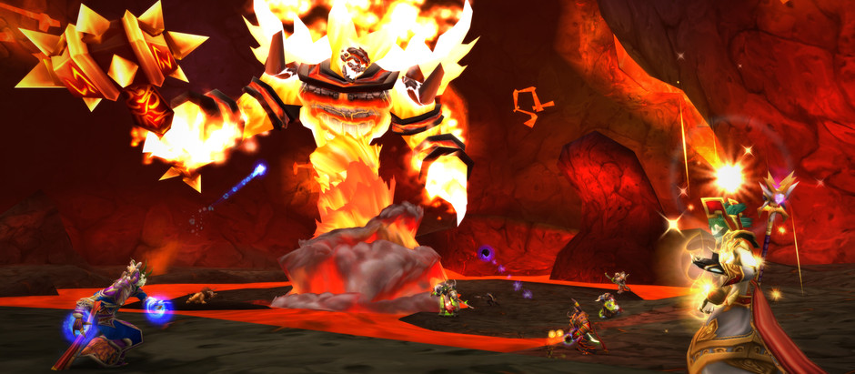 And now we're better at whatever Ragnaros does