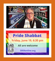 ECRA Prayer Circle and Pride Shabbat
