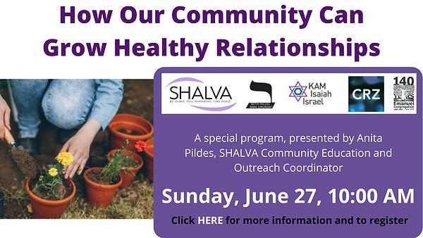 Shalva Program 06.27.21 fb w-click HERE.