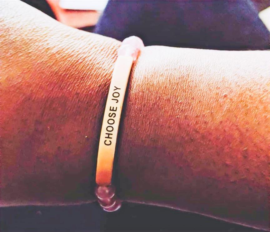 arm with bracelet