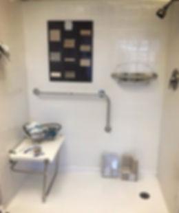 Zero-Barrier Shower