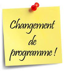 Équipe minime CEL 2020 : Changement de programme !