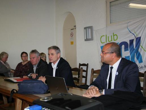 Compte rendu de la réunion du Comité Directeur du 09 décembre 2017