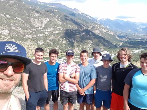 Compte rendu stage Slalom C/J Argentière La Bessée