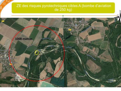 Navigation interdite sur Basse vallée du Doubs (Champdivers)