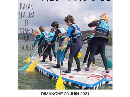 Invitations animation jeunes Kid Paddle Pontarlier - Dimanche 20 Juin